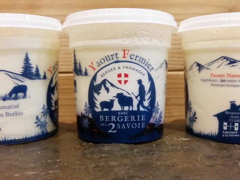 Yaourts aromatisés - Bergerie Des 2 Savoie