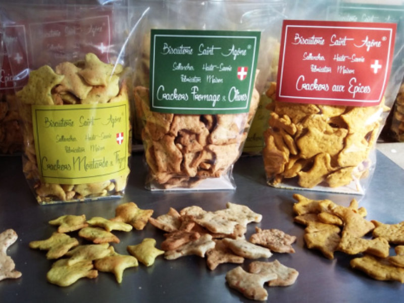 Crackers apéritifs bio - Biscuiterie Saint Agone