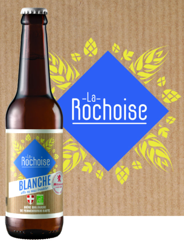 Biere blanche - Bière La Rochoise