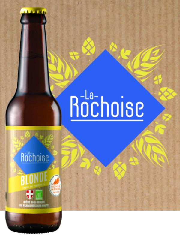 Biere blonde - Bière La Rochoise