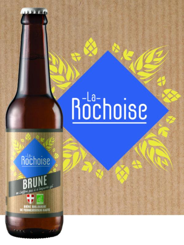 Biere brune - Bière La Rochoise