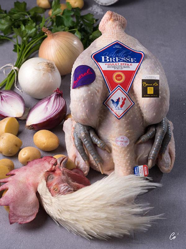 Volailles Miéral poulet de Bresse