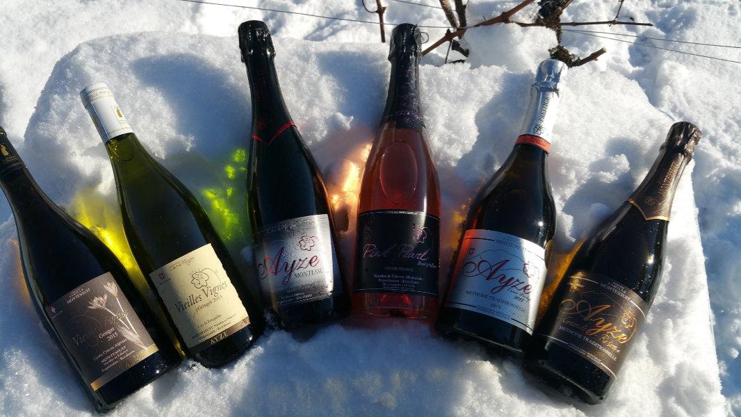 La gamme de vin du Domaine Montessuit