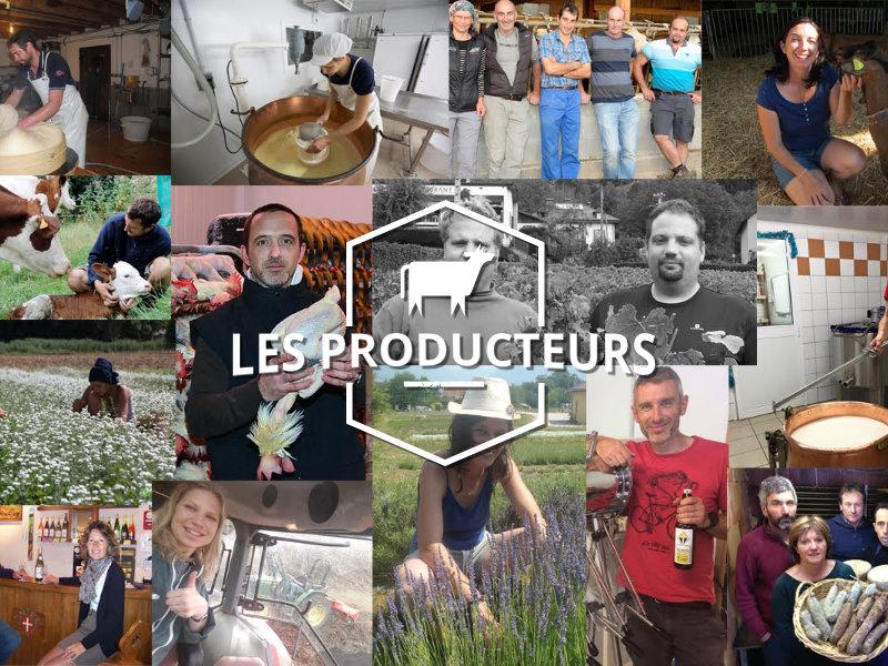 Les producteurs de la fruitière du Mont-Blanc