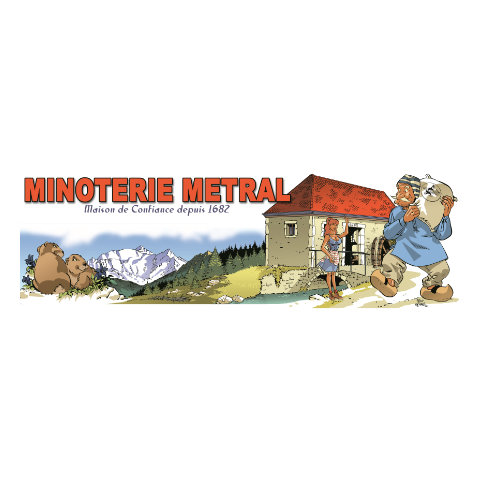 Logo Minoterie Métral