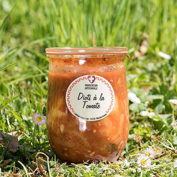 Les Délices d'alpage diots tomate