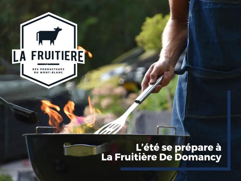 L'été se prépare à La Fruitière De Domancy