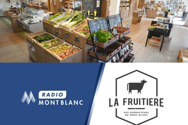 Notre directeur de passage à Radio Mont-Blanc